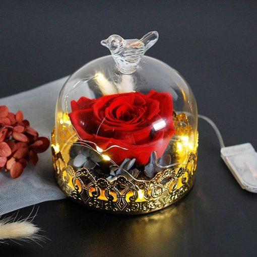 Rose Éternelle Cristal